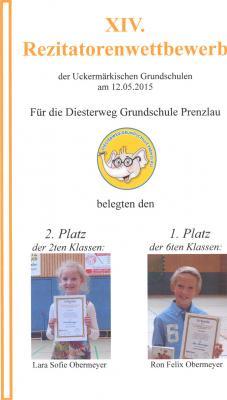 Diesterweg Grundschule Prenzlau - Kurzinfo: Diesterweg-Grundschule ...