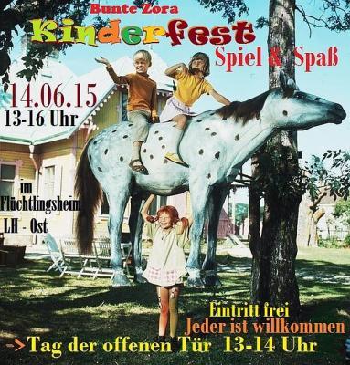 Foto zur Meldung: Kinderfest in der GU Lauchhammer