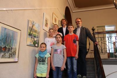 Foto zur Meldung: Bürgermeister ehrt Preisträger im Rathaus