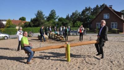 Foto zur Meldung: Groß Laasch - Ein Dorf bewegt sich SVZ 11.06.2015