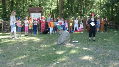 Foto zu Meldung: Fest im Naturlehrpfad