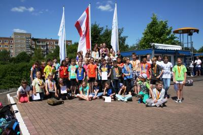 Foto zur Meldung: Jugend trainiert Schwimmen WK IV & V