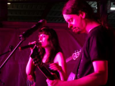 Foto zur Meldung: Die Berliner Band Cosma Nova bei Live im Hof @ Nauheim