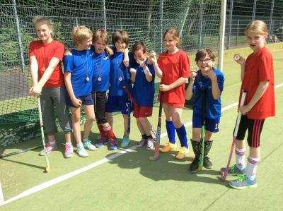 Foto zur Meldung: Grundschulhockeyturnier