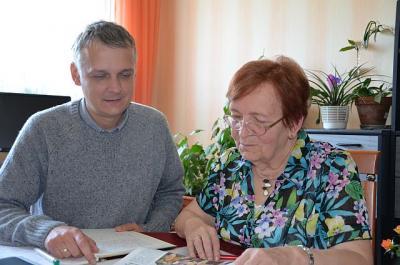 Zum Gespräch bei der Sorben/Wenden-Beauftragten des Landkreises OSL