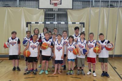 Foto zur Meldung: Alles auf Basketball