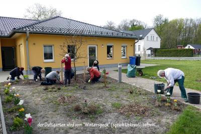 Foto zur Meldung: Unsere Dörfer packen in Eigeninitiative an: Bürgerhaus Bruchmühle lebt