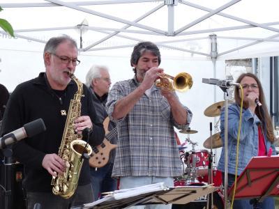 """Foto zur Meldung: Tolle Musik, tolle Atmosphäre: Zoppophon und Vagabondoj begeisterten bei """"Live im Hof"""""""
