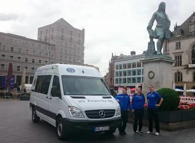 Foto zur Meldung: Der neue Bus ist da!