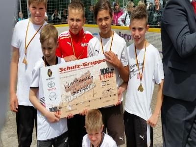 Foto zu Meldung: Sieger beim Soccerturnier in Göttlin