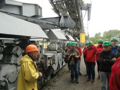 Foto zur Meldung: Bürgerinitiative Grünes Tor Rehfelde besuchte Braunkohlerevier Lausitz