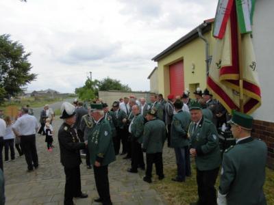 Foto zur Meldung: Schützenfest Welsickendorf