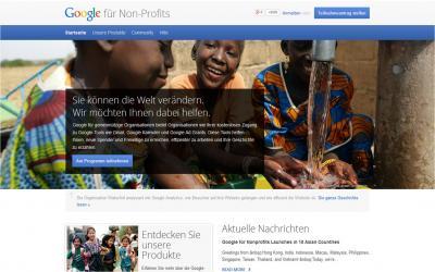 Foto zur Meldung: Google für Nonprofits