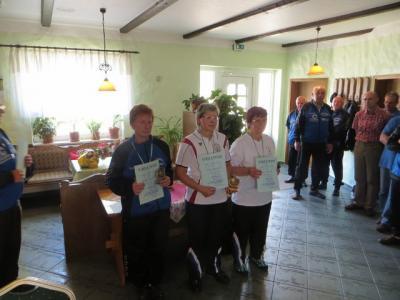 Foto zur Meldung: Kreismeisterschaften im Schere-Kegeln