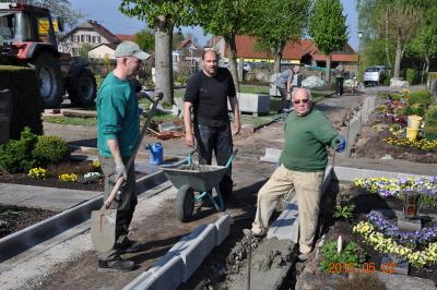 Foto zur Meldung: Schönderlinger Friedhof in neuem Glanz