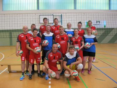 Foto zur Meldung: Volleyballer aus Polchow zieht es in die Stadt