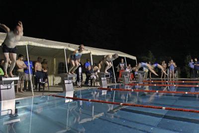 Foto zu Meldung: Calau schwimmt auf Platz 3 beim 20:15 Stundenschwimmen