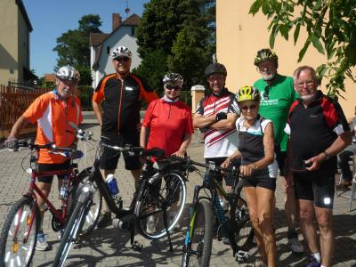 Foto zur Meldung: Radfahren macht Spaß