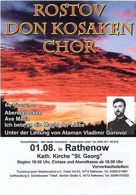 Foto zur Meldung: Konzert der Rostov Don Kosaken