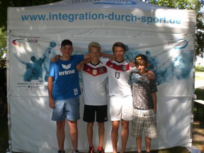Foto zur Meldung: Integration durch Sport