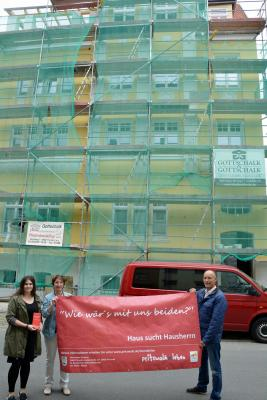 """Foto zu Meldung: """"Wie wär´s mit uns beiden?""""- Stadt wirbt weiter um Sanierer für Leerstandsobjekte"""