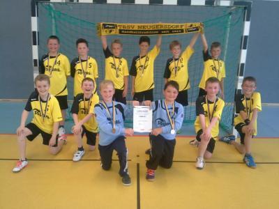 Foto zur Meldung: Kreis- Kinder- und Jugendspiele im Handball