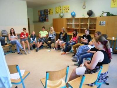 Foto zur Meldung: Streitschlichterausbildung