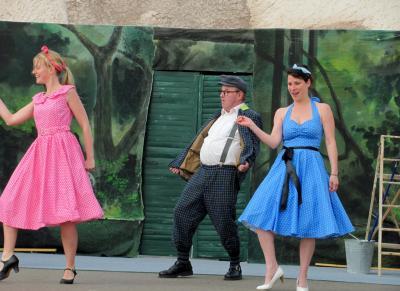 Foto zur Meldung: Hauptrolle für Udo Kleinfeld aus Tangermünde – Magdeburger Kabarettist steht bei den 16. Kalimandscharo-Festspielen auf der Salzbergbühne