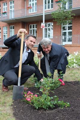 Foto zur Meldung: Landkreis OPR unterstützt Bewerbung zur Landesgartenschau