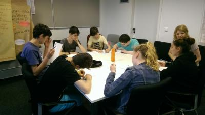 Foto zur Meldung: WPU Wirtschaftslehre im Lernbüro der Berufsschule