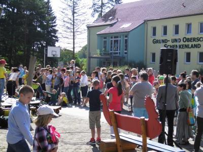 Foto zur Meldung: Hoffest der Grund- und Oberschule Schenkenland