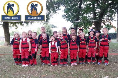 Foto zu Meldung: Kinderflamme und Alarmierung