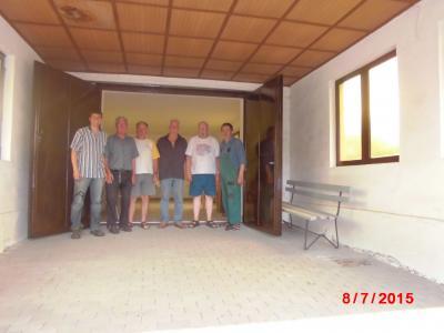 Foto zur Meldung: Arbeitseinsatz auf dem Friedhof Hohenseefeld