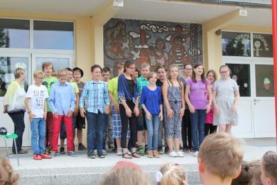 Foto zur Meldung: Abschied für Klasse 6