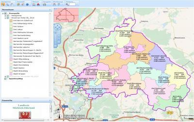 Foto zur Meldung: Landkreis Märkisch-Oderland veröffentlicht demografische Daten