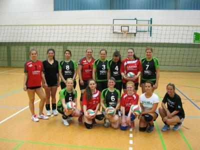 Foto zur Meldung: Volleyballerinnen mit Standortbestimmung
