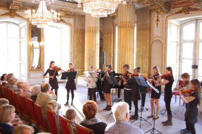 Foto zu Meldung: Meisterkonzert - Ein Konzert macht seinem Namen alle Ehre