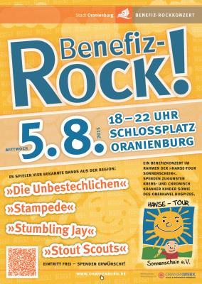 Foto zu Meldung: Benefiz-Rockkonzert am 05.08. auf dem Schlossplatz