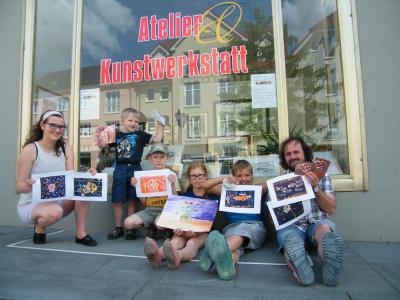Foto zur Meldung: Sommerangebote in der neuen Calauer Kunstwerkstatt Krzysch