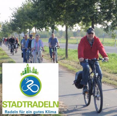 Foto zu Meldung: Stadtradeln 2015 - Nauheim war dabei - Ziel übertroffen!