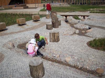 Foto zur Meldung: Ein lehrreicher Spielplatz