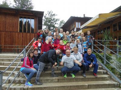 Sportcamp der Handballkinder