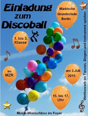 Vorschaubild zur Meldung: Discoball: 4. 5. und 6. Klasse