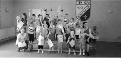Foto zur Meldung: Sportfest - Kinderturnen