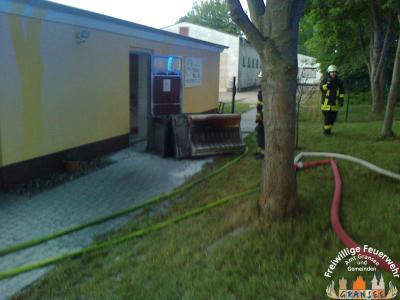 Foto zu Meldung: Brand eines Kühlgerätes verursacht Sachschaden