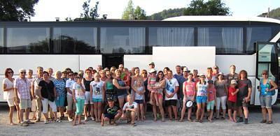 Foto zur Meldung: Ausflug des TV Wallersdorf