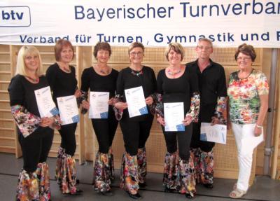 Foto zur Meldung: TV beim Bayerischen Landesturnfest in Burghausen