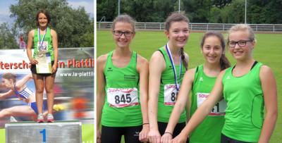 Foto zur Meldung: Niederbayerische Meisterschaften der Leichtathleten beim TSV Plattling