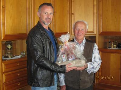 Foto zur Meldung: TV gratuliert Anton Seidl zum 80. Geburtstag