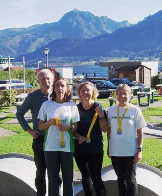 Foto zur Meldung: TV-Läufer beim Wolfgangseelauf